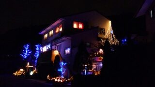 クリスマス イルミ